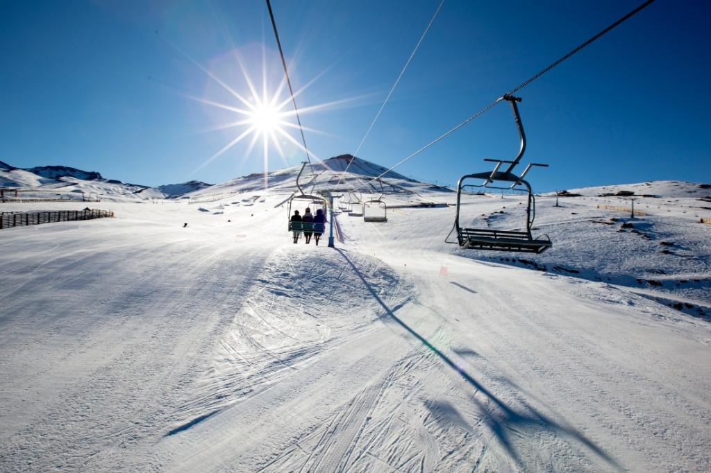 Centros de ski en Santiago